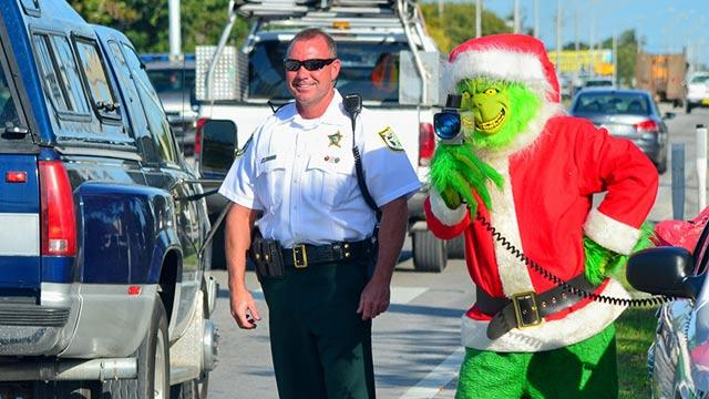 'Grinch' Runs Florida Speed Trap