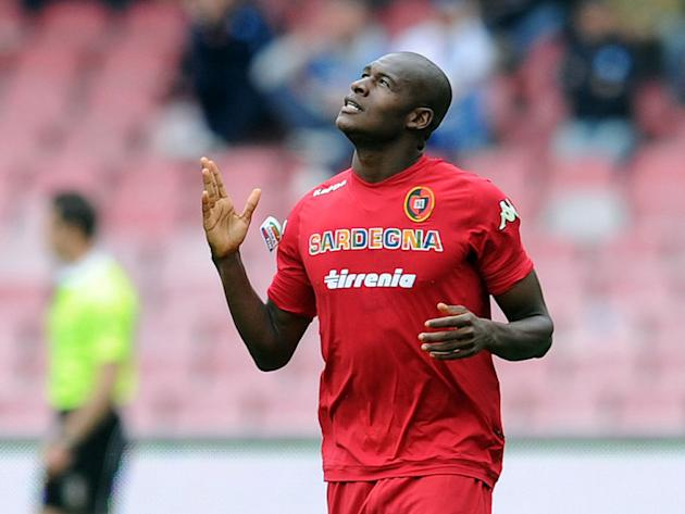 Inter eye Cagliari's Ibarbo