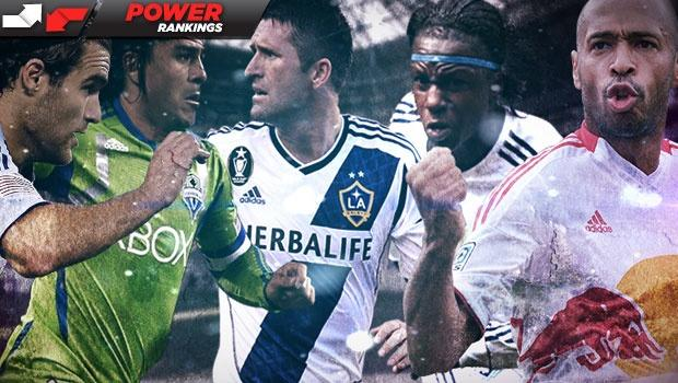 MLS Power Rankings: LA Galaxy on top, chased by Sporting KC, Dynamo & Earthquakes