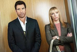 Dylan McDermott and Toni Collette | Photo Credits: Jeff Neumann/CBS