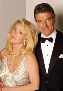 Melody Thomas Scott and Eric Braeden | Photo Credits: Monty Brinton/CBS