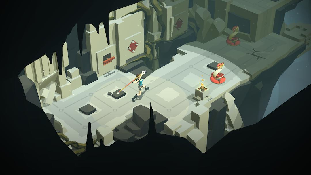 iOS Game of the Week: 'Lara Croft GO' is the perfect mobile puzzle game
