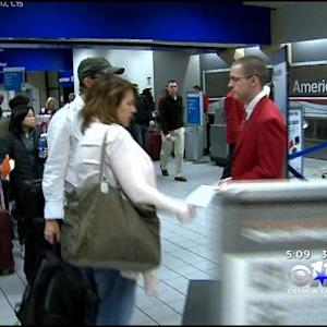 Airline Travel In DFW Affected By Winter Storm