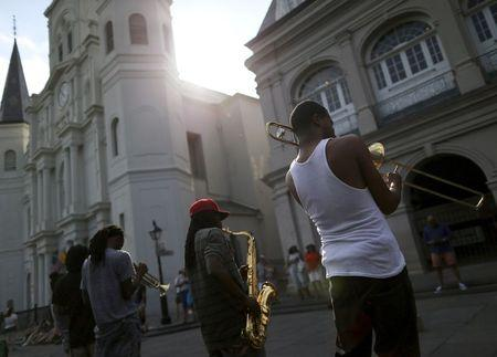 With rhythm and reverence, New Orleans marks 10 years since Katrina