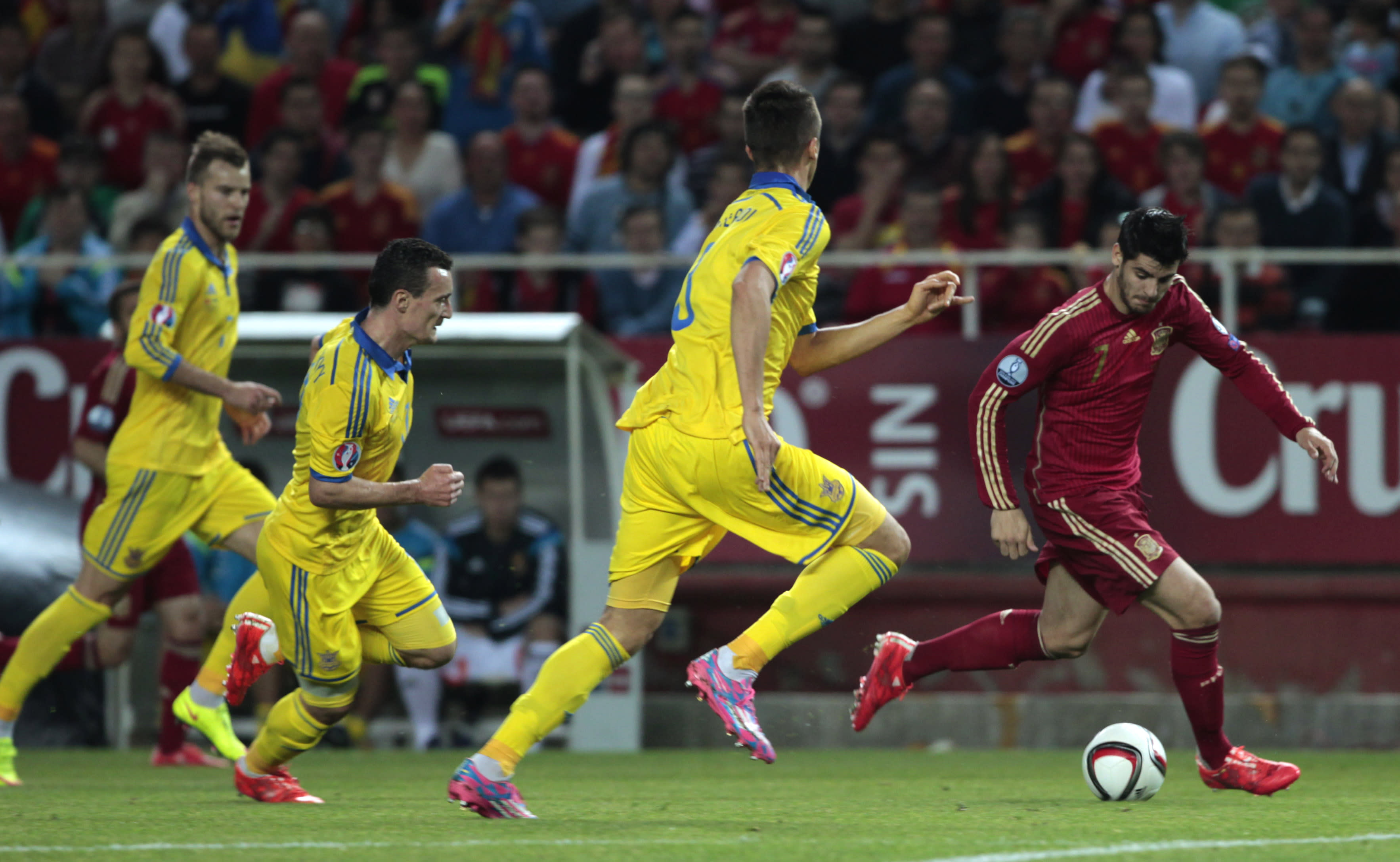 Spain beats Ukraine 1-0 in Euro 2016 qualifier