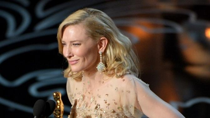 Cate Blanchett Thanked Woody Allen