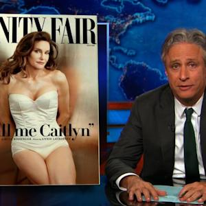 Jon Stewart Welcomes Caitlyn Jenner to 'Being a Woman in America'