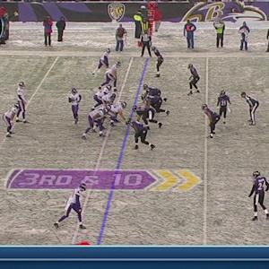 QB Cassel to WR Patterson, 79-yd, pass, TD