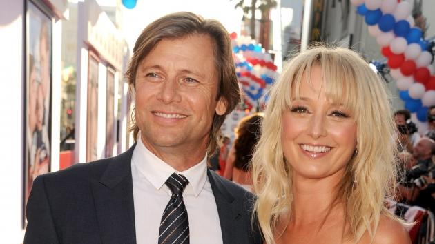 Grant Show and Katherine LaNasa arrive at the premiere of 'The Campaign' at Grauman's Chinese Theatre in Hollywood on August 2, 2012  -- Getty Images