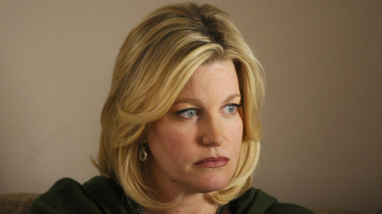 "This image released by AMC shows Anna Gunn as Skyler White in a scene from ""Breaking Bad."" The fifth season of the popular series premieres Sunday, July 15, 2012 at 10 p.m. EST on AMC. (AP Photo/AMC, Ursula Coyote)"