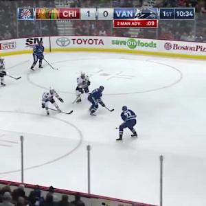 Chicago Blackhawks at Vancouver Canucks - 11/21/2015