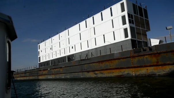 Google's $4 million mystery barge is headed for the junk yard