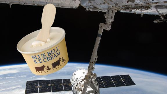 Astronaut Ice Cream: Frozen Dessert Launching to Space Station