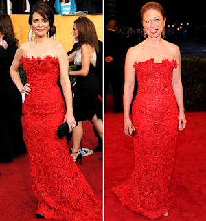 Who Wore It Best: Tina Fey or Chelsea Clinton?