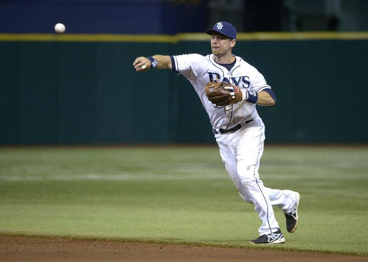 DeJesus has RBI single in 18th, Rays beat Orioles
