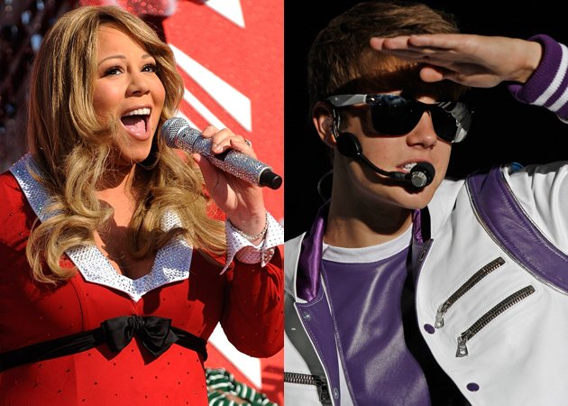 Mariah Carrey and Justin Bieber duet