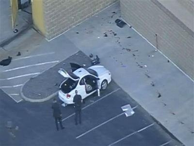 Raw Video: Daylight aerials over Colo. shooting