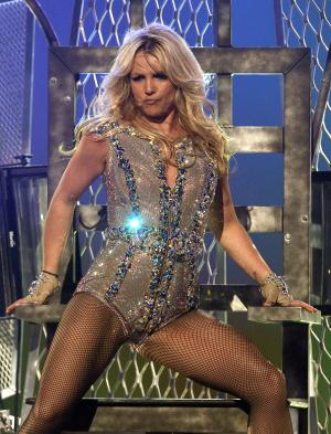 "FILE -  In this March 27, 2011, file photo singer Britney Spears performs on ABC's ""Good Morning America"" show at the Bill Graham Civic Auditorium in San Francisco.  The singer who created a sensation when she hit the music world in pigtails and knee socks is turning 30 _ and Britney Spears says she's looking forward to it. Spears kicks off a string of European tour dates Thursday Sept. 22, 2011 in St. Petersburg, but is not scheduled to play on the birthday itself. She has spent the summer performing across North America to generally positive reviews. (AP Photo/Tony Avelar, file)"