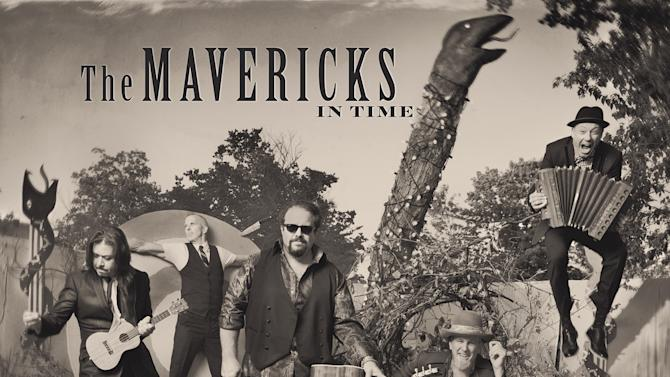 """This CD cover image released by Valory shows """"In Time,"""" by The Mavericks. (AP Photo/Valory)"""