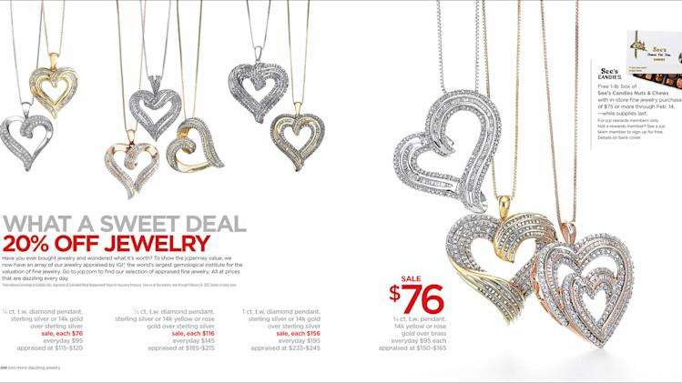 "This image provided by J.C. Penney shows the company's new advertising campaign. Penney is still embracing its ""fair and square"" strategy as the cornerstone of its reinvention plan, and says the promotions will be targeted. But the latest tactic acknowledges that middle-income shoppers can't be weaned off sales. (AP Photo/J.C.Penney)"