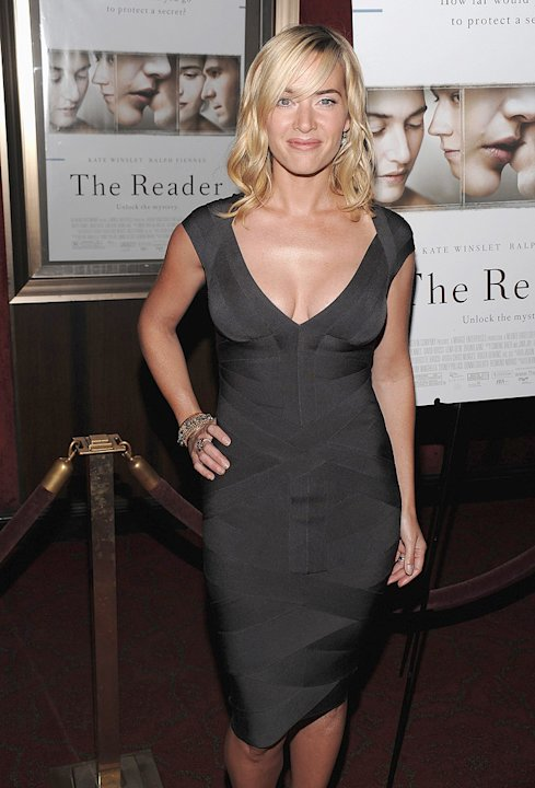 The Reader NY Premiere 2008 Kate Winslet