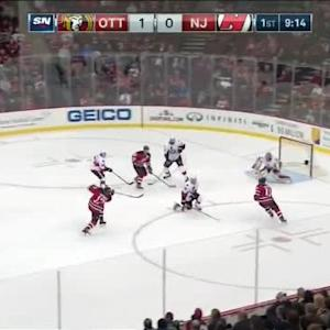 Craig Anderson Save on Michael Ryder (10:48/1st)
