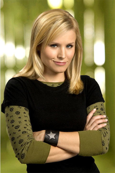 Kristen Bell stars as Veronica in Veronica Mars on The CW.