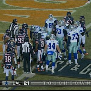 Dallas Cowboys running back Joseph Randle 1-yard touchdown