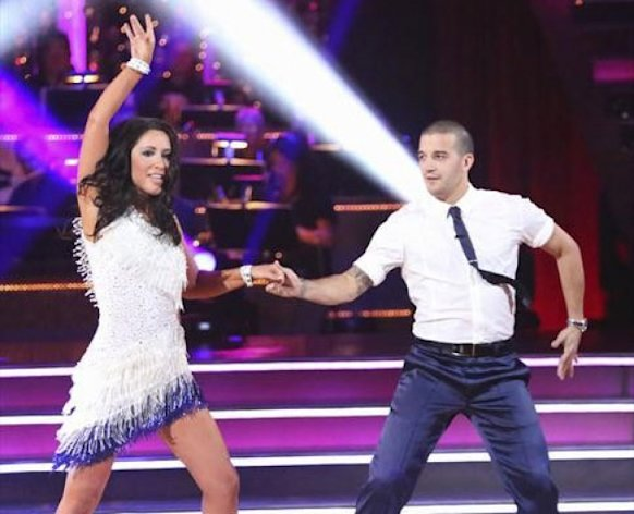 Bristol Palin and Mark Ballas during Week 1 of 'Dancing with the Stars: All-Stars' -- ABC