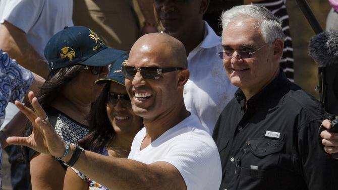 Yankees visit Mariano Rivera's home country