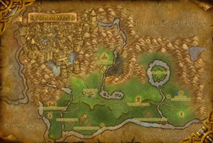 World of Warcraft's Stormwind Keep For Sale at the Auction House image stormwind map