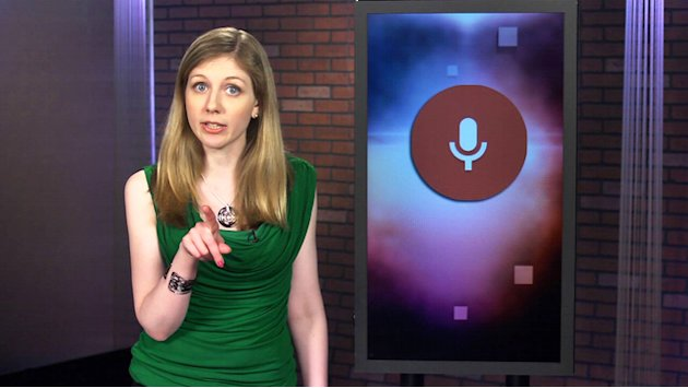 Google talks back in new voice search
