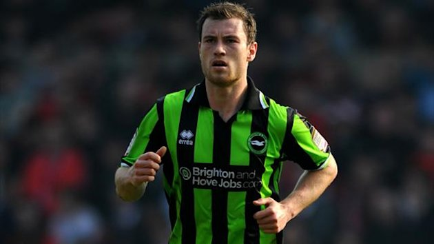 Brighton striker Ashley Barnes (PA Photos)