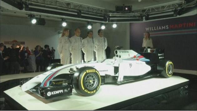 Formula 1 - Massa delight at new Williams drive