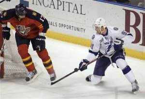 Stamkos nets winning goal for TB against Panthers
