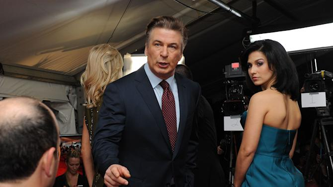 Actor Alec Baldwin is seen at the NFL Honors on Saturday, Feb. 2, 2013 in New Orleans. (Photo by Cheryl Gerber/Invision/AP Images)