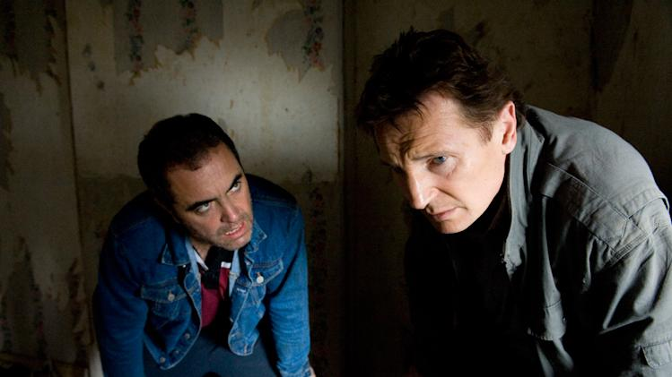 Five Minutes of Heaven Production Photos 2009 IFC Film Liam Neeson James Nesbitt