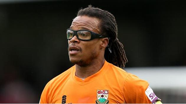 Football - Davids 'retires' following sending off