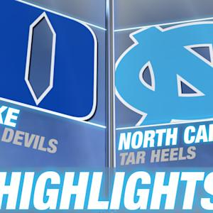 Duke vs North Carolina | 2014-15 ACC Women's Basketball Highlights