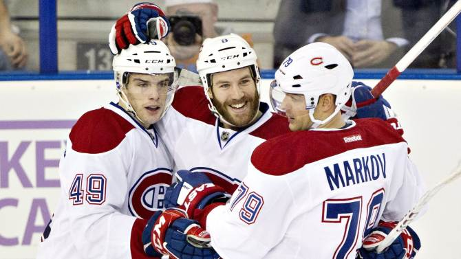 Canadiens upend Oilers 4-1