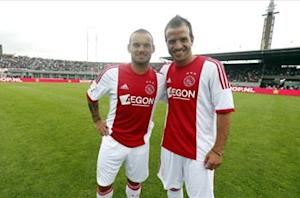 Van der Vaart rules out Ajax return