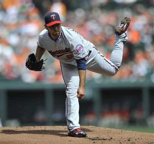 Hicks, Twins rally to 4-3 victory over Orioles