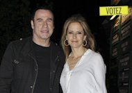 Sondage : Selon vous, la femme de John Travolta nie-t-elle l&#39;vidence ?