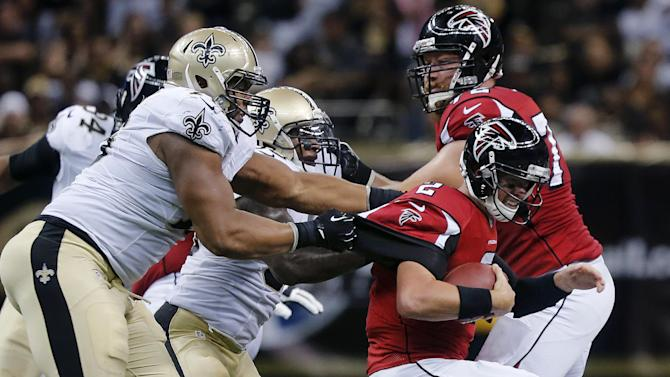 Falcons line still huge question mark after loss