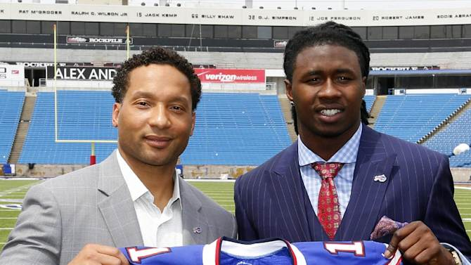 Bills open camp seeking to end playoff drought