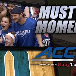 Tony Romo Joins the Cameron Crazies | ACC Must See Moment
