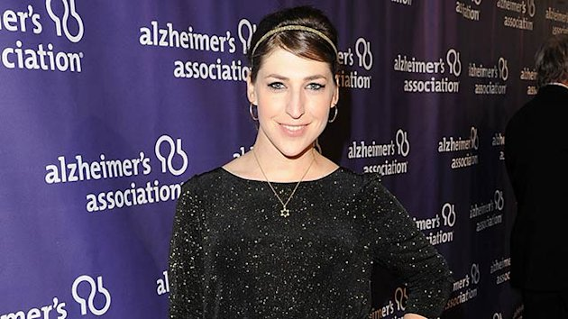 Mayim Bialik Finds Comic Relief in Injury