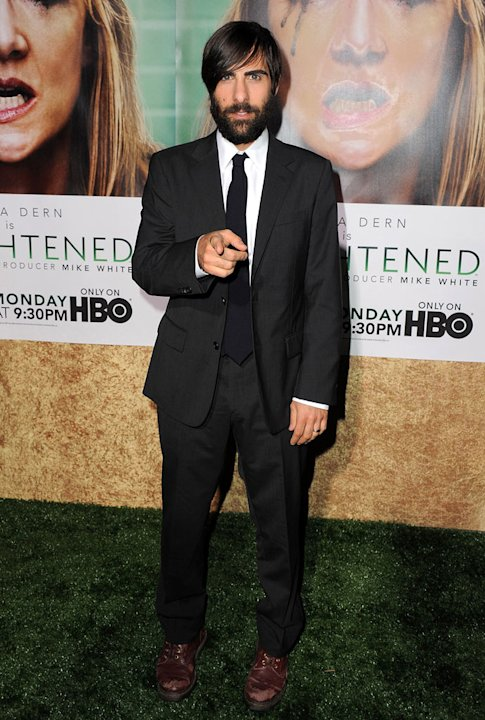 "Jason Schwartzman arrives at the premiere of HBO's ""Enlightened&quot at Paramount Theater on October 6, 2011 in Hollywood, California."