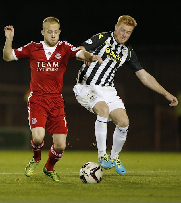 Soccer - Scottish Premiership - St Mirren v Aberdeen - St Mirren Park
