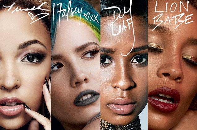 Halsey, Tinashe, Lion Babe and Dej Loaf Star in New MAC Campaign